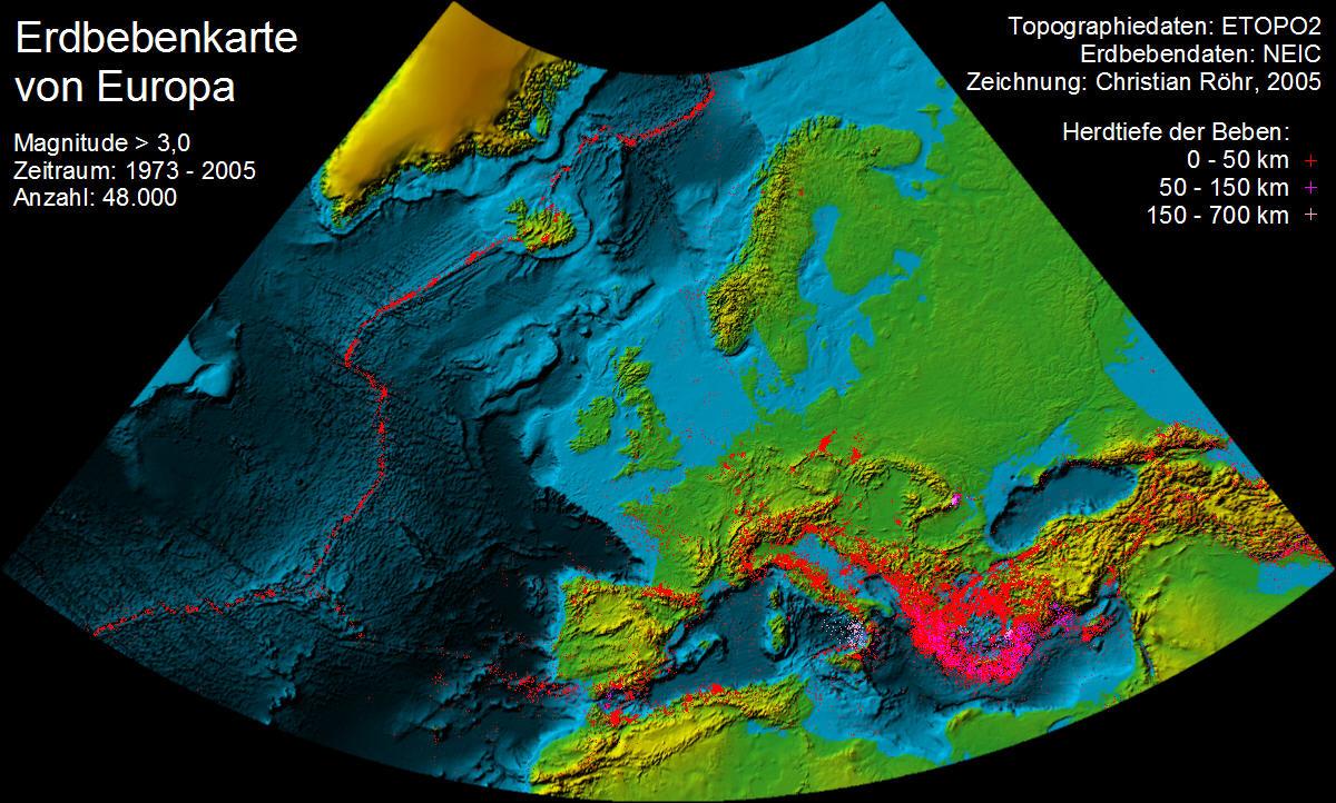Rheingraben Erdbeben
